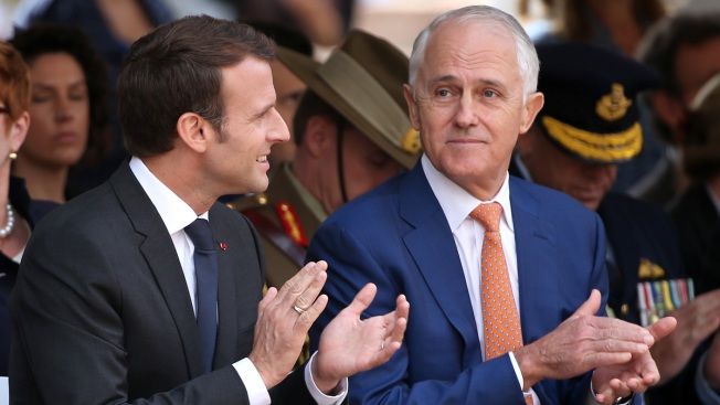 Faux Pas: France's Macron Calls Aussie PM's Wife 'Delicious'