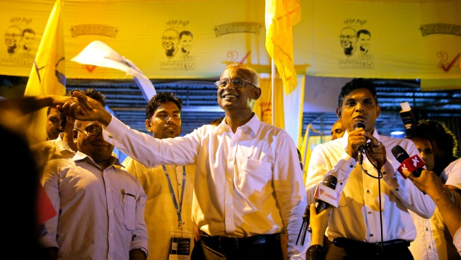 Maldives' President Concedes Loss to Opposition Candidate