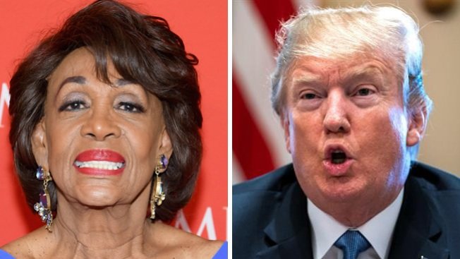 President Warns LA Rep. Maxine Waters: 'Be Careful What You Wish For'