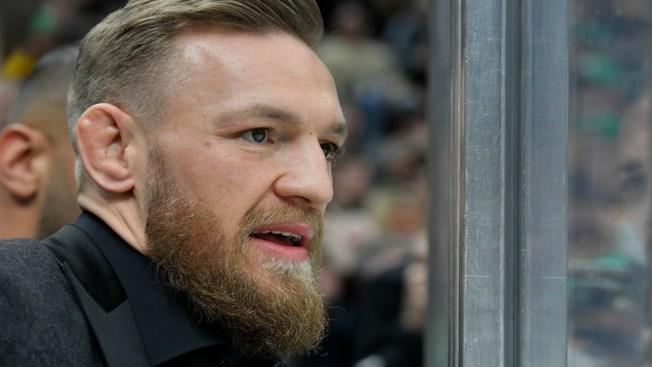 Watch Conor McGregor's Amazing Reaction to Bruins' Game-winning Goal