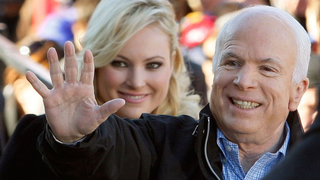 Sen. John McCain Visited by Friends and Family After Surgery