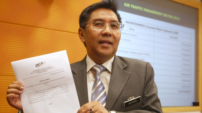 Malaysia's Civil Aviation Chief Quits Over Flight 370 Lapses