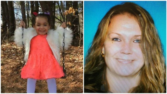 Massachusetts State Police issue 'Amber Alert' for 3-year-old girl