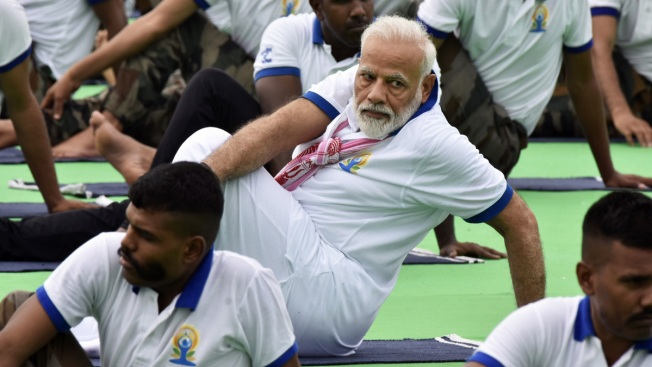 India Uses Yoga Diplomacy to Assert Rising Global Influence