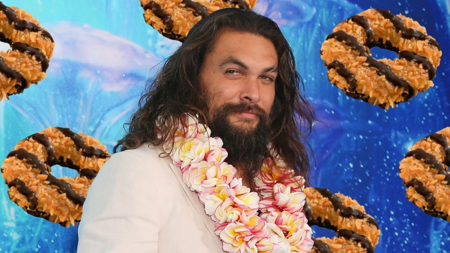 Girl Scout Uses Shirtless Picture of Jason Momoa to Sell More Boxes