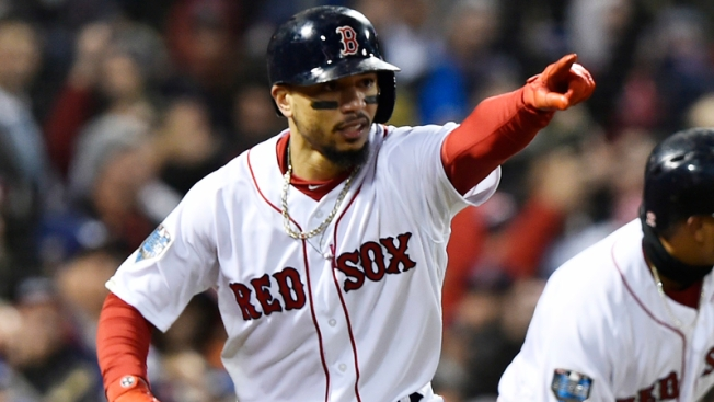 WATCH: Mookie Betts Robs Domingo Santana With Awesome Snow Cone Catch