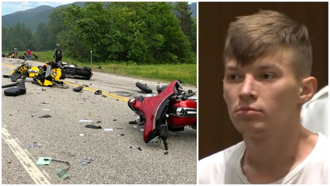 Deadly NH Motorcycle Crash: Grand Jury Indicts Driver on 23 Charges