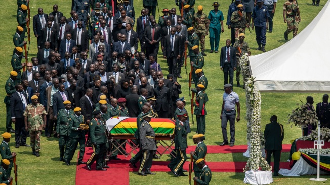 Zimbabwe's Mugabe Honored at State Funeral, Burial Delayed