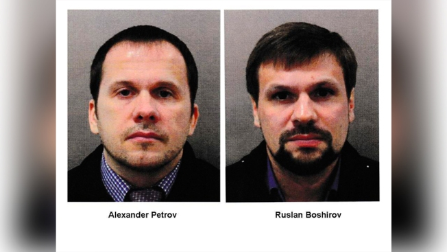 Britain Charges 2 Russians Over Poisoning of Ex-Spy, Daughter