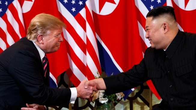 Trump Says He's Bucking Treasury, Reversing North Korea Sanctions