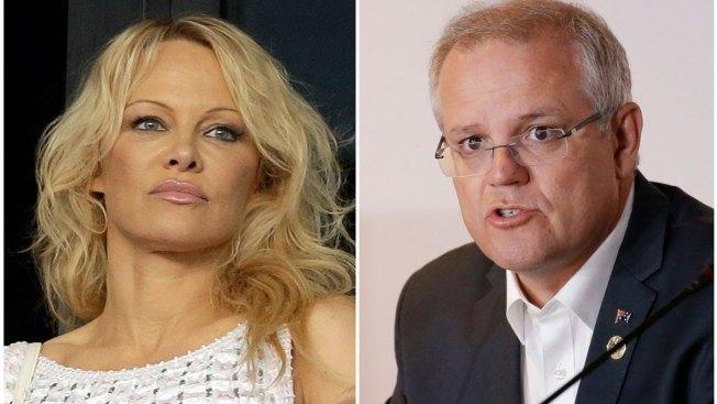 Pamela Anderson Calls Australian PM's Comments 'Smutty'