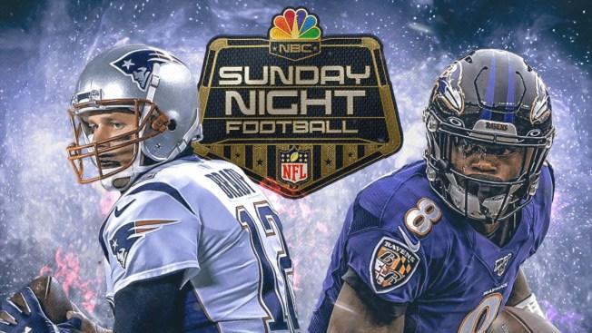 How to Watch Patriots-Ravens on Sunday Night Football on NBC10 Boston