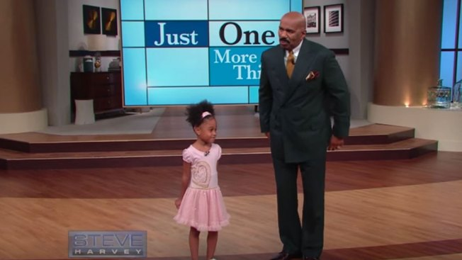 Child Poet Returns to Steve Harvey