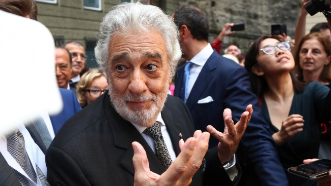 Plácido Domingo Gets Standing Ovation at Salzburg
