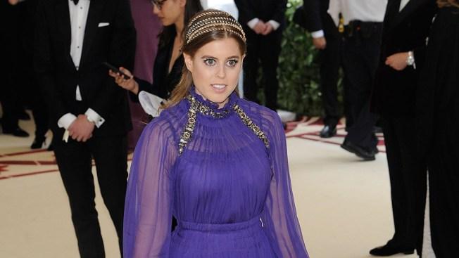 Princess Beatrice Brings Royalty to 2018 Met Gala Red Carpet