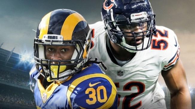 How to Watch Rams-Bears on Sunday Night Football