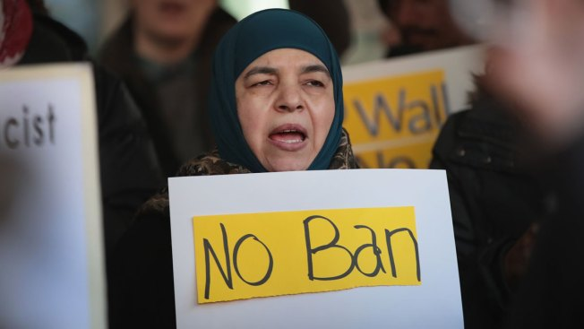 Justice Department faces tough questions over travel ban