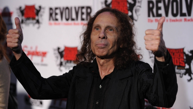 Dead Heavy Metal Icon Ronnie James Dio Will Tour as Hologram