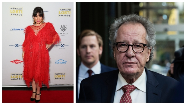 Actress Yael Stone Not Able to Testify Against Geoffrey Rush