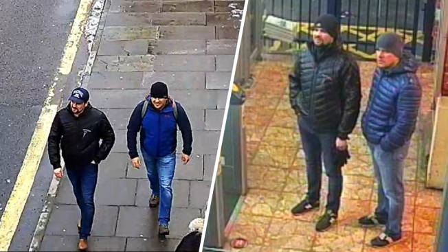 Russian Suspects in Poisoning: We Were in UK as Tourists