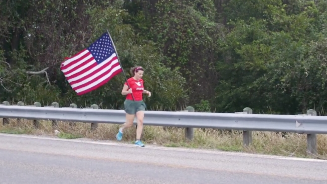 Why One Flag Is Being Handed Off Over 4,600 Miles