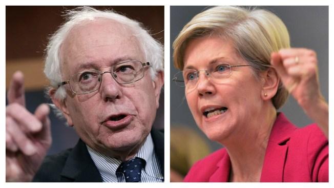 "Bernie Sanders ""Welcomes"" Elizabeth Warren Backers"