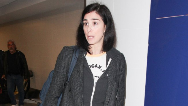 Sarah Silverman Slammed After Erroneous Swastika Tweet