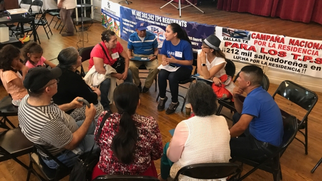 Central Americans Fighting Trump Administration to Keep Legal Status