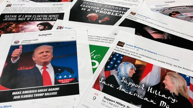 Mueller Names Social Media Accounts in Indictment