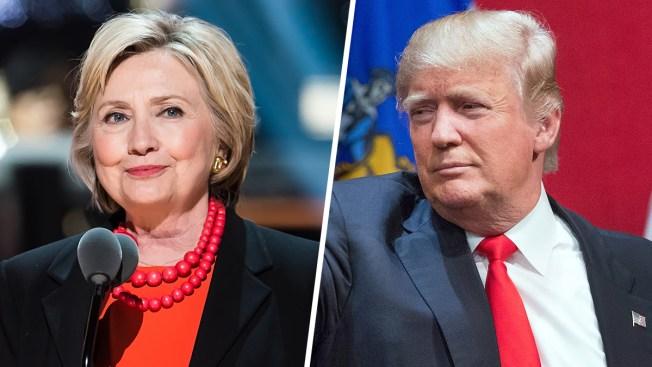 NBC/WSJ Polls: Clinton Leads Trump in New Hampshire; Tied in Nevada