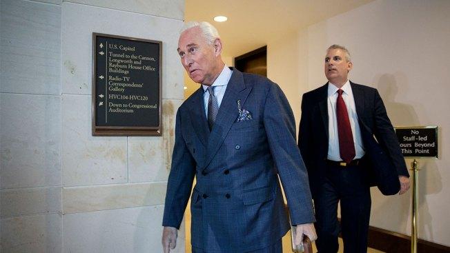 Trump Associate Roger Stone Invokes Fifth Amendment, Won't Give Senate Documents or Testify