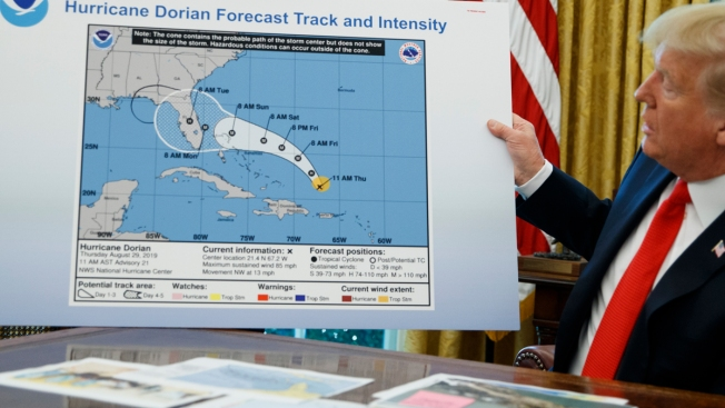 NOAA Assailed for Defending Trump's Hurricane Dorian Claim