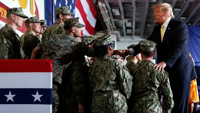 Pentagon Tells White House to Stop Politicizing Military