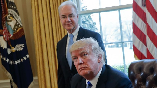 Tom Price says he'll pay taxpayers for charter flights, fly commercial now