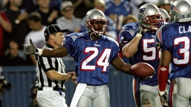 Ty Law Enters Hall with Tight End He Had to Cover