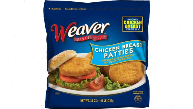 Tyson Foods Recalls 39,000 Pounds of Frozen Chicken Patties