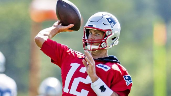 Patriots QB Tom Brady Gets Day Off From Second Training Camp Practice