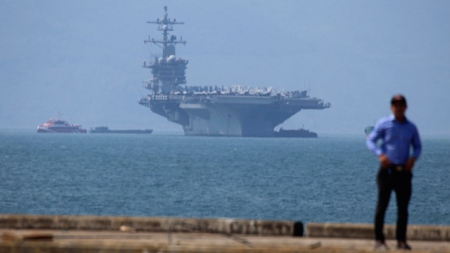 US Navy Carrier's Visit to Vietnam Puts China on Notice