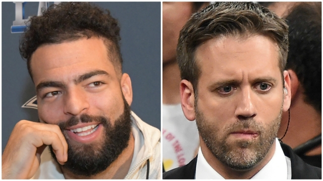 Kyle Van Noy (Finally) Confronts Max Kellerman Over Patriots Hot Takes