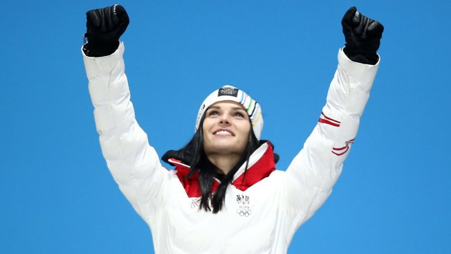 Anna Veith Hits Back at Bode Miller's 'Married Skiers' Comment With Olympic Silver