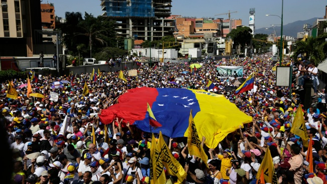 Juan Guaido Calls for Venezuela Defections as Nicolas Maduro Stands Firm