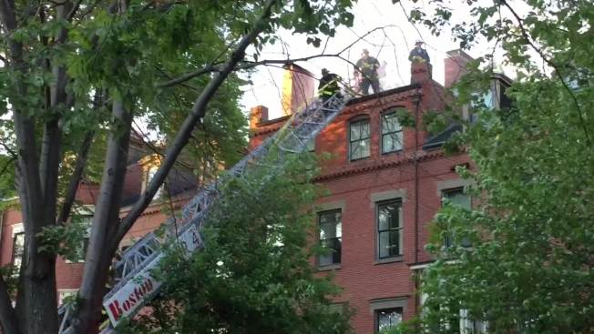 Residents Displaced in Boston Fire