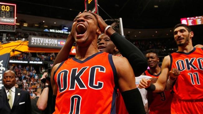 Russell Westbrook Wins NBA MVP After Historic Season; Rockets, Bucks Take 2 Awards