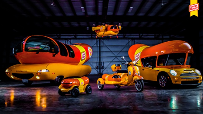 The Oscar Mayer Wienermobile Now has an Entourage