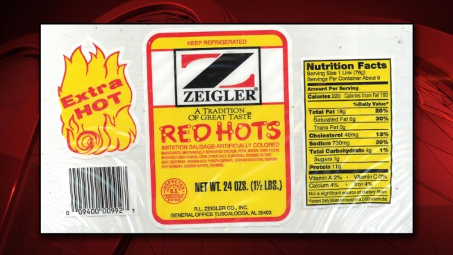 Zeigler Red Hots That May Contain Metal Recalled Nationwide