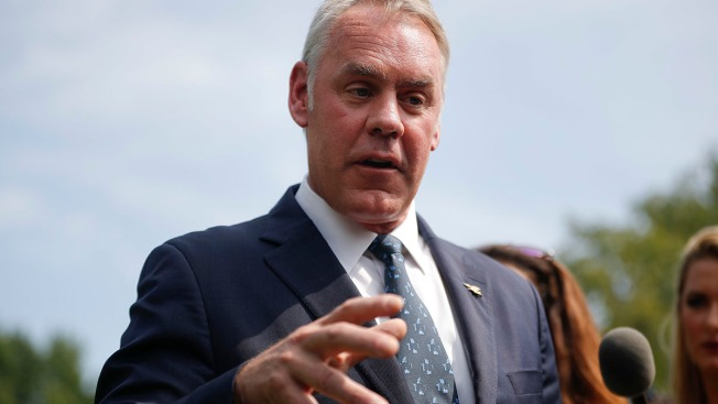 Interior Secretary Blames 'Environmental Terrorist Groups' for Wildfires