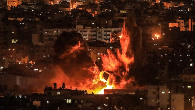 After Gaza Strikes, Israel Threatens Iranian Forces in Syria
