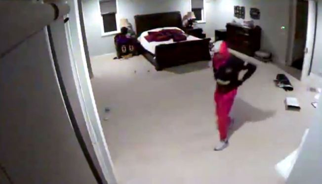 Caught on Camera: 2 Men Ransack Bedroom at Home of Dodgers' Puig