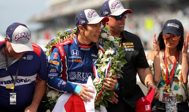 Sportswriter Tweets Japanese Indy 500 Winner Makes Him 'Uncomfortable'