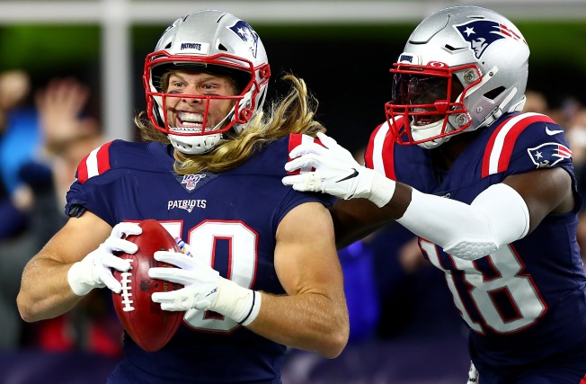 Patriots 6-0 After Pulling Away from Giants